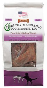 MEDIUM – Freeze Dried Blueberry Dog Biscuits