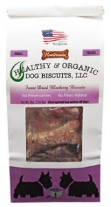SMALL – Freeze Dried Blueberry Dog Biscuits