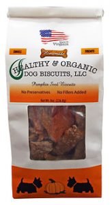 SMALL – Pumpkin Seed Dog Biscuits