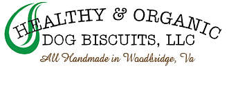 Healthy & Organic Dog Biscuits Logo